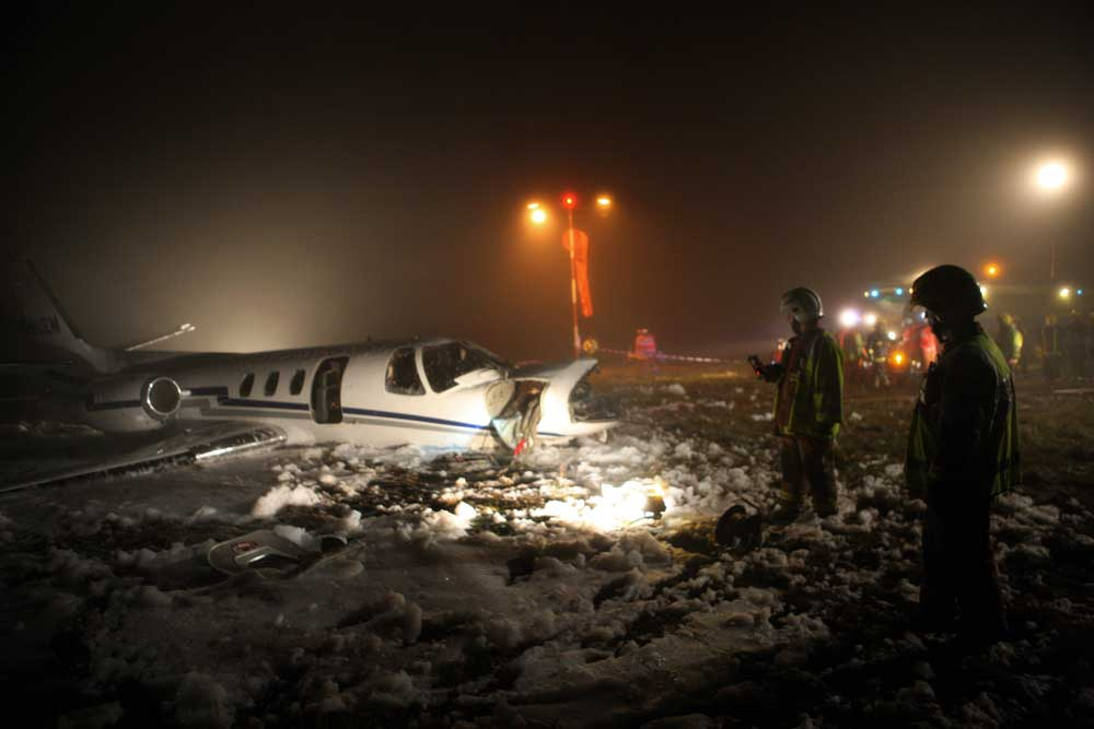 Birmingham International Airport Liver Transplant Plane Crash