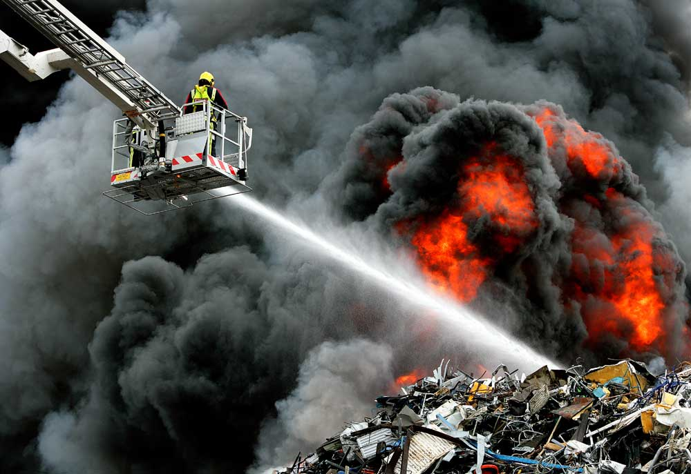 Scrap Yard Fire – Nechells