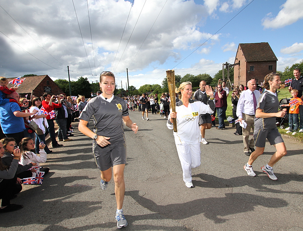 Olympic Torch event – Black Country Living Museum Dudley