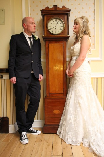 midlands wedding - bride and groom